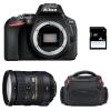 Nikon D5600 + AF-S DX 18-200 mm f/3.5-5.6G ED VR II + Sac + SD 4Go | Garantie 2 ans