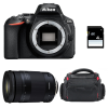 Nikon D5600 + Tamron 18-400mm f/3.5-6.3 Di II VC HLD + Bag + SD 4Go | 2 Years Warranty