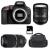 Nikon D5600 + AF-S DX 16-85 mm f/3.5-5.6G ED VR + Tamron SP AF 70-300 mm f/4-5.6 Di VC USD + Sac + SD 4Go | Garantie 2 ans