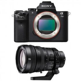 Sony ALPHA 7 II + SEL FE PZ 28-135 mm f/4 G OSS   2 Years Warranty