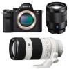 Sony ALPHA 7 II + SEL Vario-Tessar T* FE 24-70 mm f/4 ZA OSS + SEL FE 70-200 mm f/4 G OSS | 2 Years Warranty