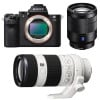 Sony ALPHA 7 II + SEL Vario-Tessar T* FE 24-70 mm f/4 ZA OSS + SEL FE 70-200 mm f/4 G OSS | Garantie 2 ans