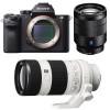 Sony ALPHA 7R II + SEL Vario-Tessar T* FE 24-70 mm f/4 ZA OSS + SEL FE 70-200 mm f/4 G OSS | 2 años de garantía