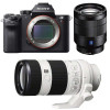 Sony ALPHA 7R II + SEL Vario-Tessar T* FE 24-70 mm f/4 ZA OSS + SEL FE 70-200 mm f/4 G OSS | Garantie 2 ans
