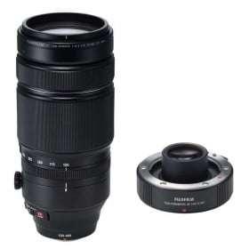 Fujifilm Fujinon XF 100-400 mm f/4.5-5.6 R LM OIS WR + TC XF 1.4X WR