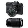 Fujifilm X-T20 Black + Fujinon XC 16-50 mm f/3.5-5.6 OIS II + Fujinon XC 50-230 mm f/4.5-6.7 OIS II   2 Years Warranty