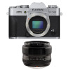 Fujifilm X-T20 Silver + Fujinon XF 35 mm f/1.4 R | 2 Years Warranty