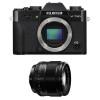 Fujifilm X-T20 Noir + Fujinon XF 56 mm f/1.2 R   Garantie 2 ans