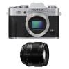 Fujifilm X-T20 Silver + Fujinon XF 56 mm f/1.2 R | 2 Years Warranty