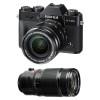 Fujifilm X-T20 Noir + Fujinon XF 18-55 mm f/2.8-4 R LM OIS + Fujinon XF 50-140 mm f/2.8 R LM OIS WR | Garantie 2 ans
