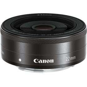 Canon EF-M 22mm F2 STM Black | 2 Years Warranty