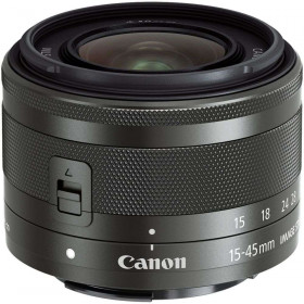 Canon EF-M 15-45mm F3.5-6.3 IS STM Negro