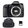 Canon EOS 80D Nu + Sac + SD 4Go | Garantie 2 ans