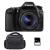Canon EOS 80D + EF-S 18-55 mm IS STM + Bolsa + SD 4Go | 2 años de garantía