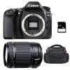 Canon EOS 80D + Tamron 18-200 mm F/3.5-6.3 Di II VC + Sac + SD 4Go | Garantie 2 ans