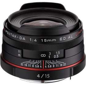 Pentax DA 15mm F4 ED AL Limited HD   Garantie 2 ans