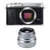 Fujifilm X-E3 Silver + Fujinon XF 35 mm f/2 R WR | Garantie 2 ans
