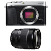 Fujifilm X-E3 Silver + Fujinon XF 18-135 mm f/3.5-5.6 R LM OIS WR   Garantie 2 ans