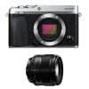 Fujifilm X-E3 Silver + Fujinon XF 56 mm f/1.2 R   2 Years Warranty