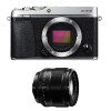 Fujifilm X-E3 Silver + Fujinon XF 56 mm f/1.2 R   Garantie 2 ans