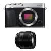 Fujifilm X-E3 Silver + Fujinon XF 56 mm f/1.2 R