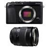 Fujifilm X-E3 Noir + Fujinon XF 18-135 mm f/3.5-5.6 R LM OIS WR | Garantie 2 ans
