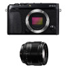 Fujifilm X-E3 Black + Fujinon XF 56 mm f/1.2 R | 2 Years Warranty
