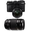 Fujifilm X-E3 Noir + Fujinon XF 18-55 mm f/2.8-4 R LM OIS + Fujinon XF 55-200 mm f/3.5-4.8 R LM OIS | Garantie 2 ans