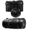 Fujifilm X-E3 Black + Fujinon XF 18-55 mm f/2.8-4 R LM OIS + Fujinon XF 50-140 mm f/2.8 R LM OIS WR | 2 Years Warranty