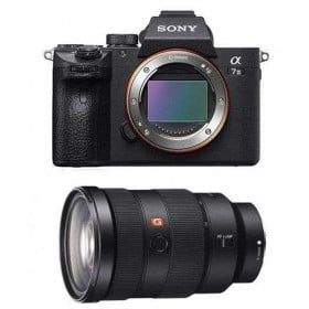 Cámara mirrorless Sony A7 III + SEL FE 24-70 mm f/2.8 GM