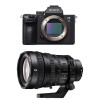 Sony Alpha 7 III + SEL FE PZ 28-135 mm f/4 G OSS | Garantie 2 ans