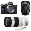 Sony Alpha 7 III + SEL FE 24-70 mm f/4 ZA OSS + SEL FE 70-200 mm f/4 G OSS | 2 años de garantía