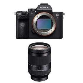 Cámara mirrorless Sony A7R III + SEL FE 24-240 mm f/3.5-6.3 OSS