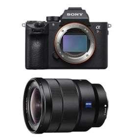 Cámara mirrorless Sony A7R III + FE 16-35 mm F2.8 G Master