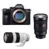 Sony ALPHA 7R III + SEL FE 24-70 mm f/2.8 GM + SEL FE 70-200 mm f/2.8 GM OSS | 2 años de garantía