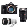 Sony ALPHA 7R III + SEL FE 24-70 mm f/2.8 GM + SEL FE 70-200 mm f/2.8 GM OSS | 2 Years Warranty