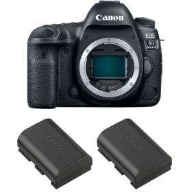 Canon EOS 5D Mark IV + 2 Canon LP-E6N