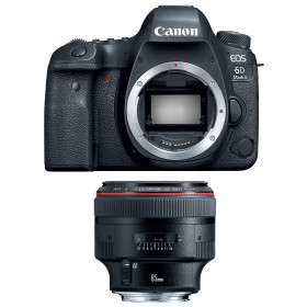 Canon EOS 6D Mark II + EF 85mm f/1.2L II USM | 2 Years Warranty