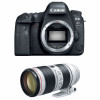 Canon EOS 6D Mark II + EF 70-200mm f/2.8L IS III USM | Garantie 2 ans