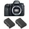 Canon EOS 6D Mark II + 2 Canon LP-E6N | 2 Years Warranty