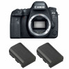 Canon EOS 6D Mark II + 2 Canon LP-E6N | Garantie 2 ans