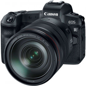 Cámara mirrorless Canon R + RF 24-105 mm f/4L IS USM + Canon EF R