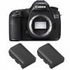 Canon EOS 5DS + 2 Canon LP-E6N