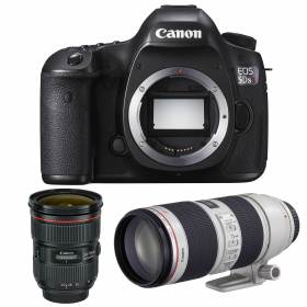 Canon EOS 5DS R + EF 24-70 f/2.8L II USM + EF 70-200 f/2.8 L IS USM II