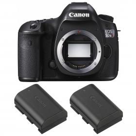 Canon EOS 5DS R + 2 Canon LP-E6N