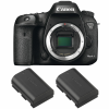 Canon EOS 7D Mark II + 2 Canon LP-E6N   2 Years Warranty