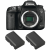 Canon EOS 7D Mark II + 2 Canon LP-E6N   2 años de garantía