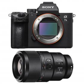 Cámara mirrorless Sony A7R III + Sony FE 90mm F2.8 Macro G OSS