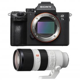 Cámara mirrorless Sony A7R III + Sony FE 70-200mm F2.8 GM OSS