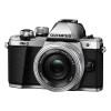 Olympus OM-D E-M10 Mark II + ED 14-42 mm f/3,5-5,6 EZ Pancake Silver | 2 Years Warranty